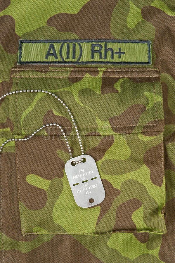 Download Dog tag stock image. Image of clothing, sign, american - 18250751