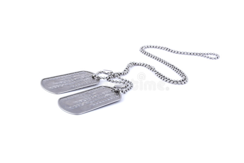 Download Dog tags stock image. Image of chain, marines, american - 3579329