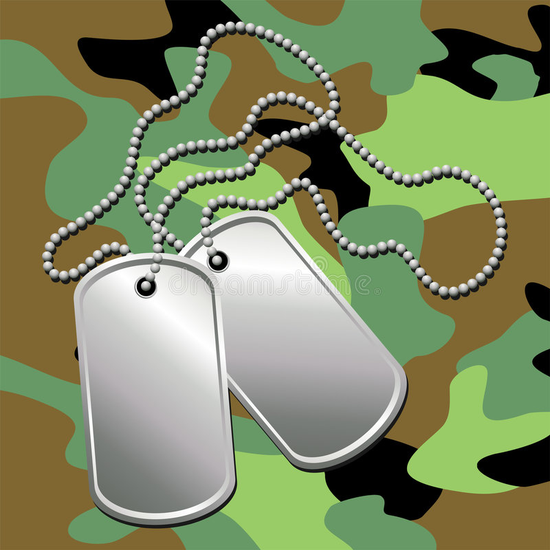 Free Dog Tags_03 Royalty Free Stock Photos - 2520688