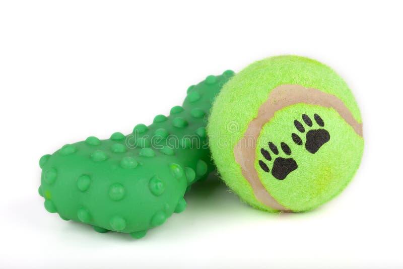 Dog toys stock photo