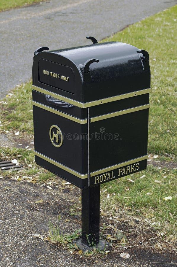 Dog waste box royalty free stock images
