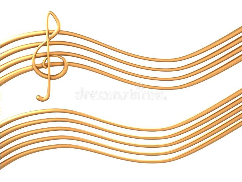 doga dell'oro 3d royalty illustrazione gratis