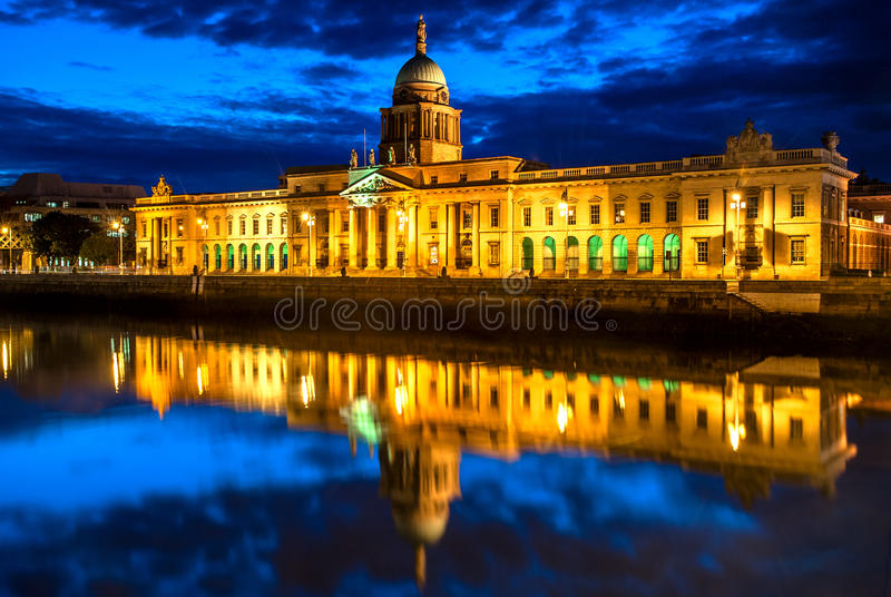 Dogana a Dublino, Irlanda fotografie stock libere da diritti