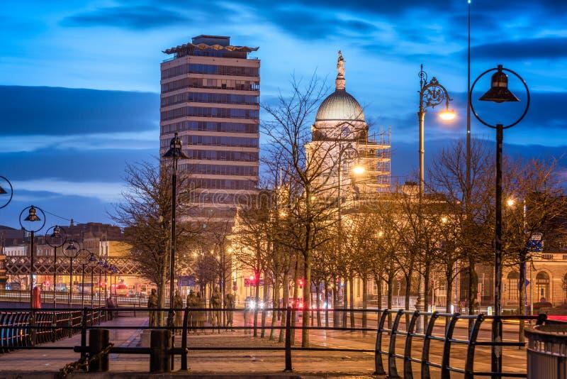 Dogana e Liberty Dublin, Irlanda-Europa immagini stock libere da diritti