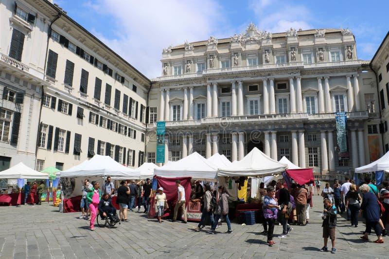 Doge ` s παλάτι, Γένοβα, Ιταλία στοκ φωτογραφίες με δικαίωμα ελεύθερης χρήσης