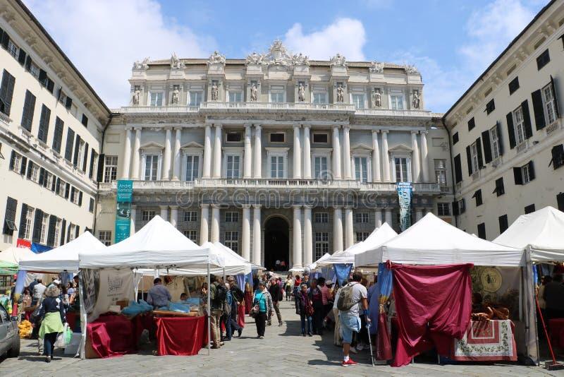 Doge ` s παλάτι, Γένοβα, Ιταλία στοκ εικόνες με δικαίωμα ελεύθερης χρήσης