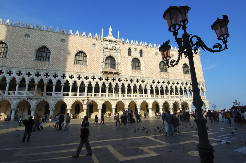 Download Doge's palace stock image. Image of palazzo, piazza, city - 1488871