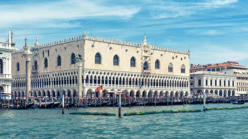 Doge`s Palace in Venice, Italy royalty free stock photos