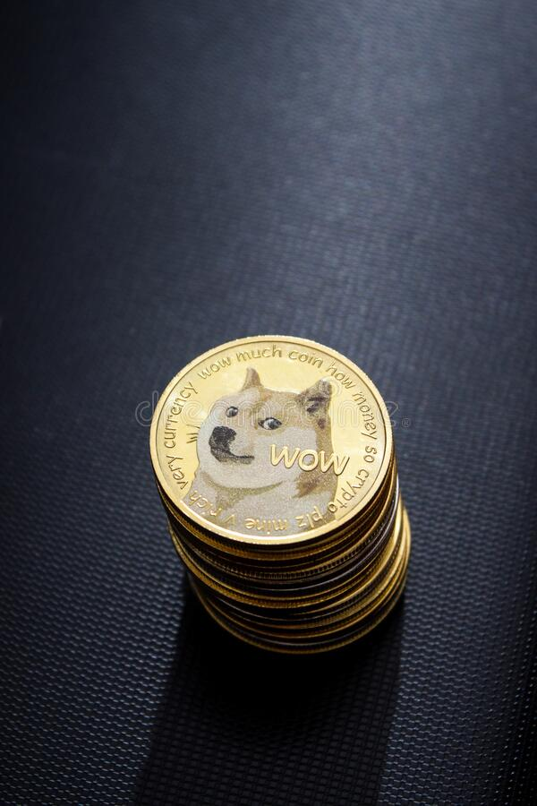 Free Dogecoins Royalty Free Stock Photography - 219377397