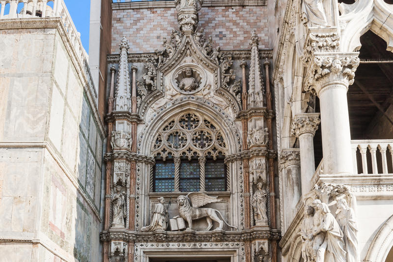 Download Doges Palace Palazzo Ducale Venice Italy Architecture Details Editorial Photography