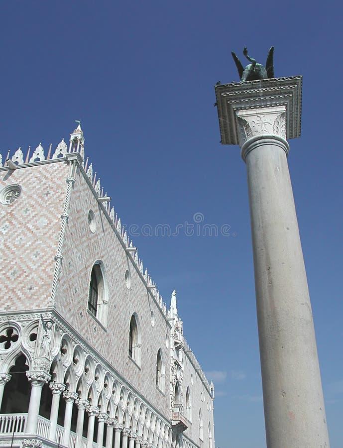 Doges Palast, Venedig, Italien stockfotos