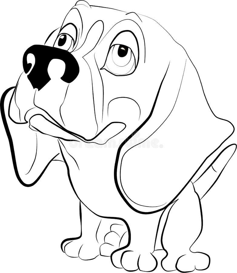 Doggie διανυσματική απεικόνιση