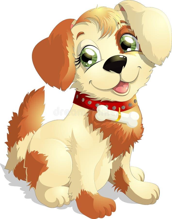 Doggie royalty-vrije illustratie