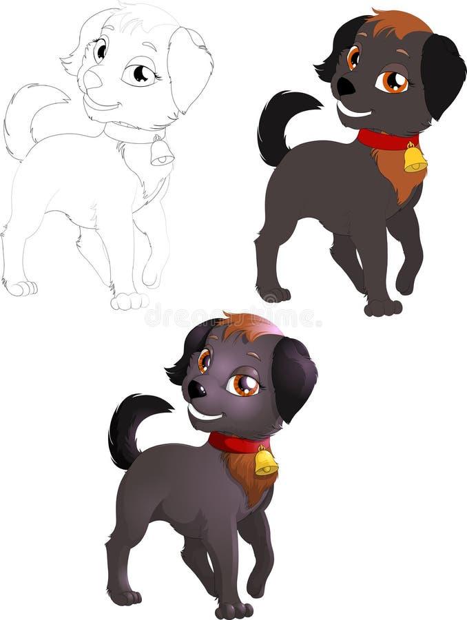 Download Doggie stock vector. Illustration of illustration, full - 41079373