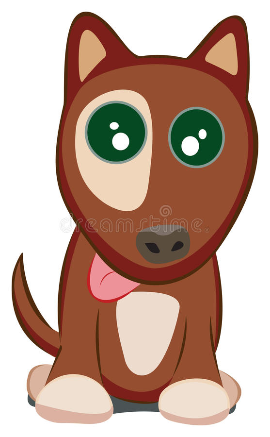 Doggy illustrazione di stock