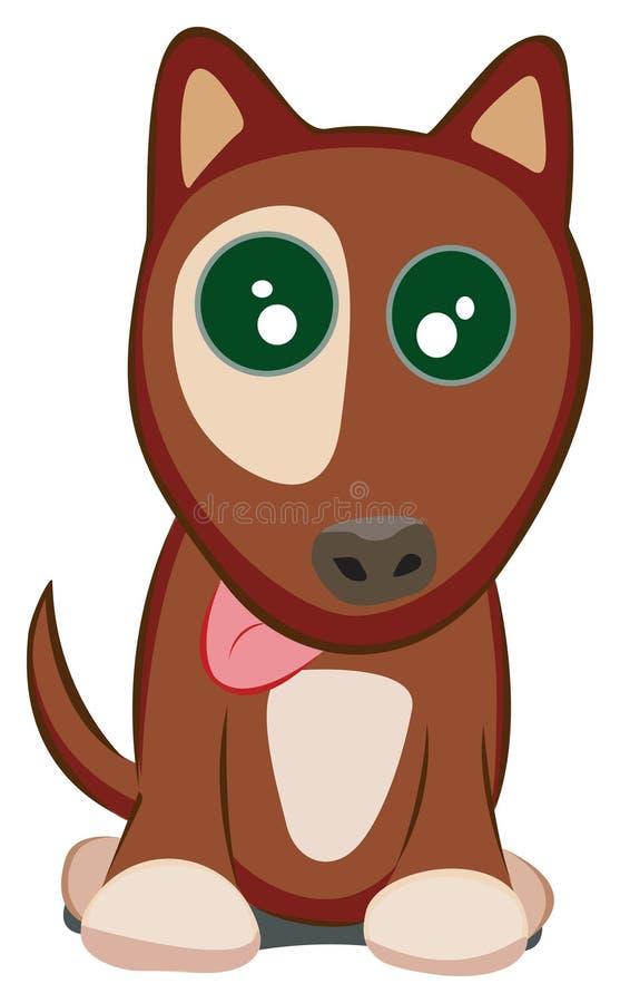 Doggy ilustração stock