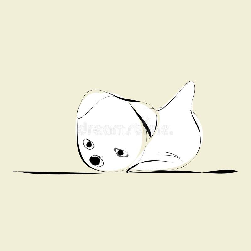 doggy ilustração royalty free
