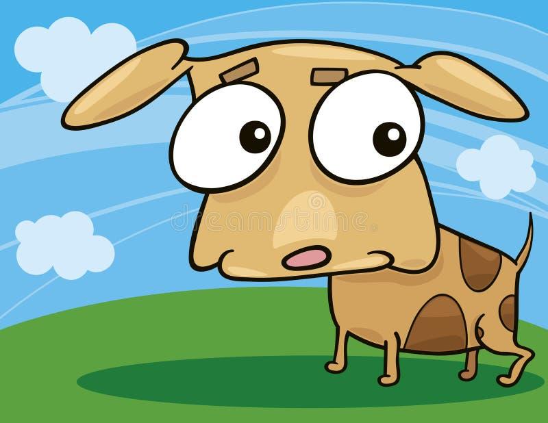 Doggy bonito ilustração stock
