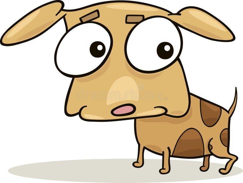 Doggy bonito ilustração do vetor