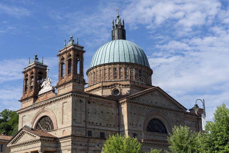 Dogliani: historic church. Dogliani, Langhe, Cuneo, Piedmont, Italy: exterior of the historic Saints Quirico and Paolo church stock photos