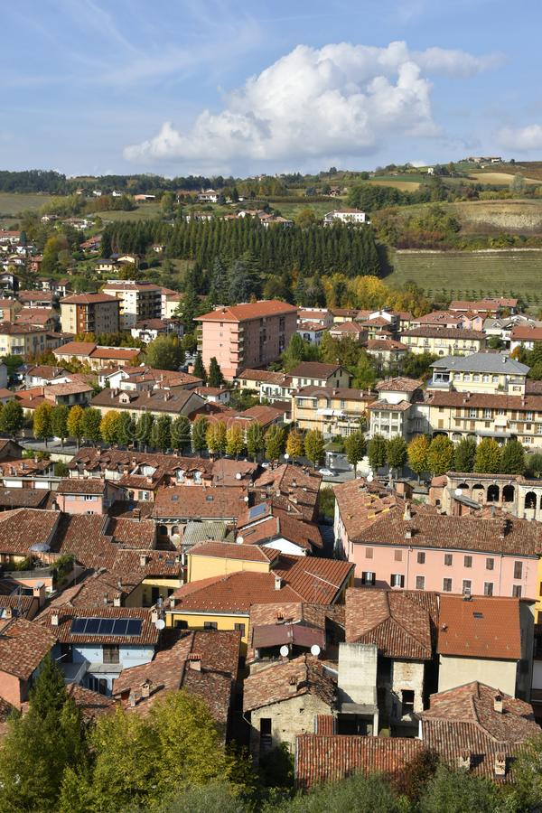 Dogliani, Langhe, Piedmont, Italy stock photos