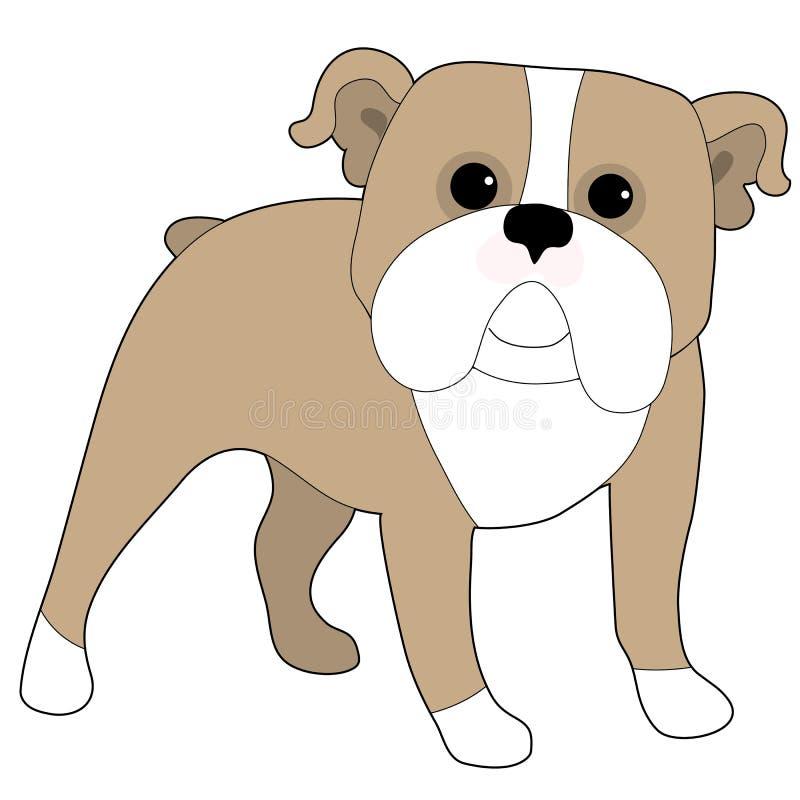 Dogo inglés ilustración del vector