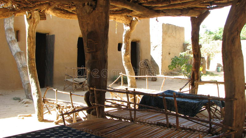 Dogon Patio royalty free stock images