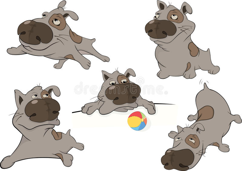 Download Dogs. Cartoon. Clip Art Royalty Free Stock Photo - Image: 27640275