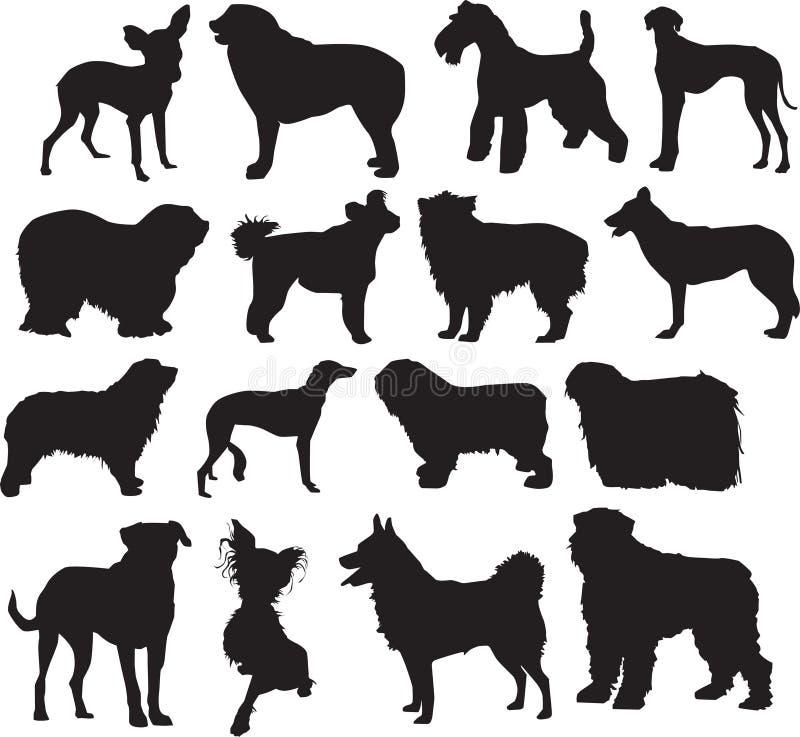 Download Dogs, sketch stock illustration. Illustration of running - 5127696