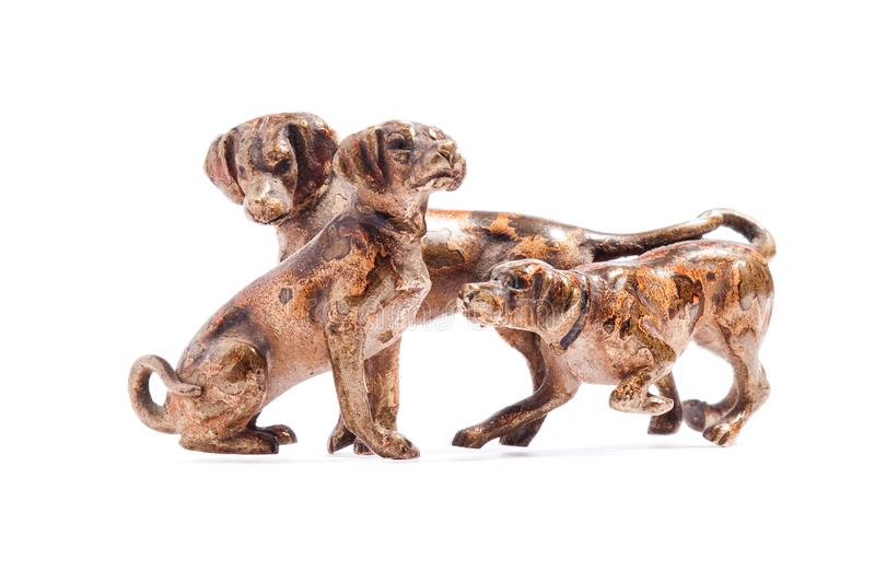 Download Dogs on a white background stock photo. Image of graphic - 14154716