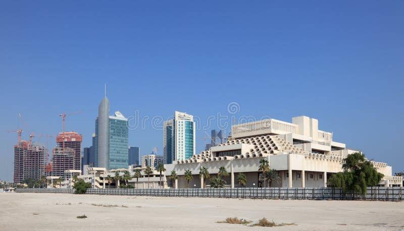 doha śródmieście Qatar zdjęcie royalty free