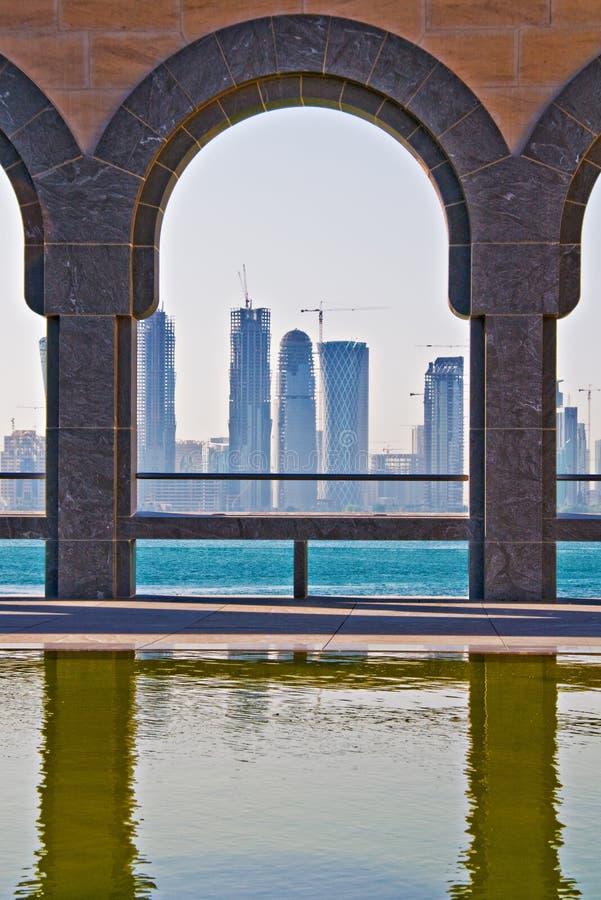 Doha photographie stock libre de droits