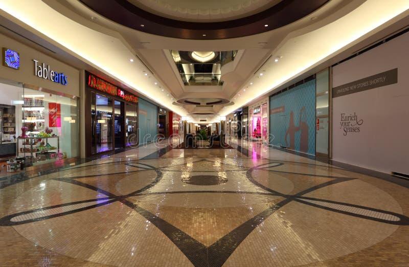 doha lagoona centrum handlowe Qatar fotografia royalty free