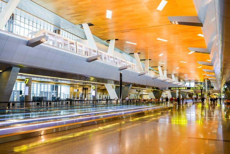 Doha lotnisko fotografia stock