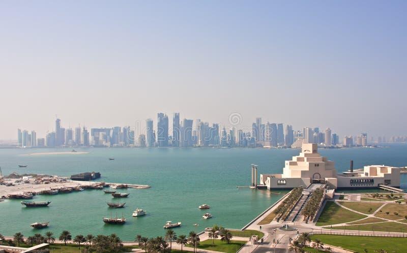 Doha Qatar foto de archivo libre de regalías