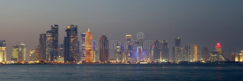 Doha, Qatar fotografia de stock