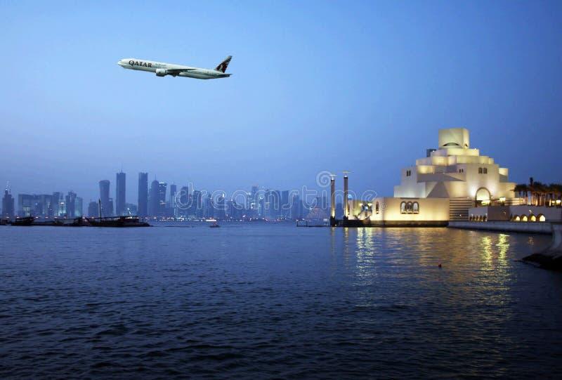 Doha Qatar stock afbeeldingen