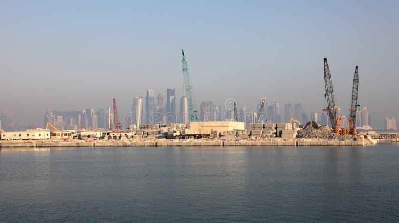 Download Doha, Qatar, Médio Oriente imagem de stock. Imagem de downtown - 26501217