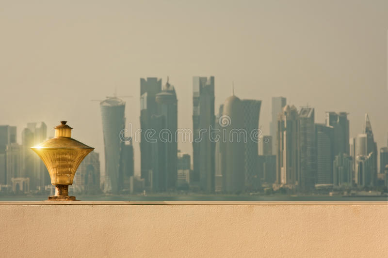 Download Doha quatar stock photo. Image of business, downtown - 26805366