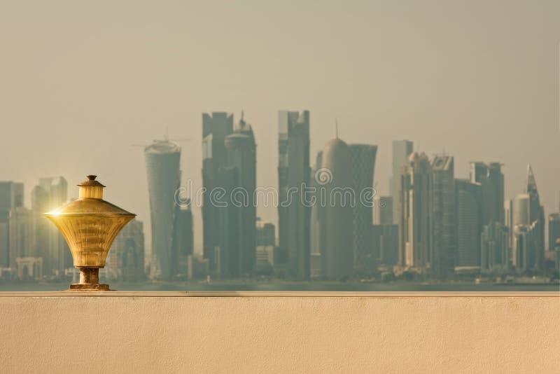 Doha quatar image libre de droits