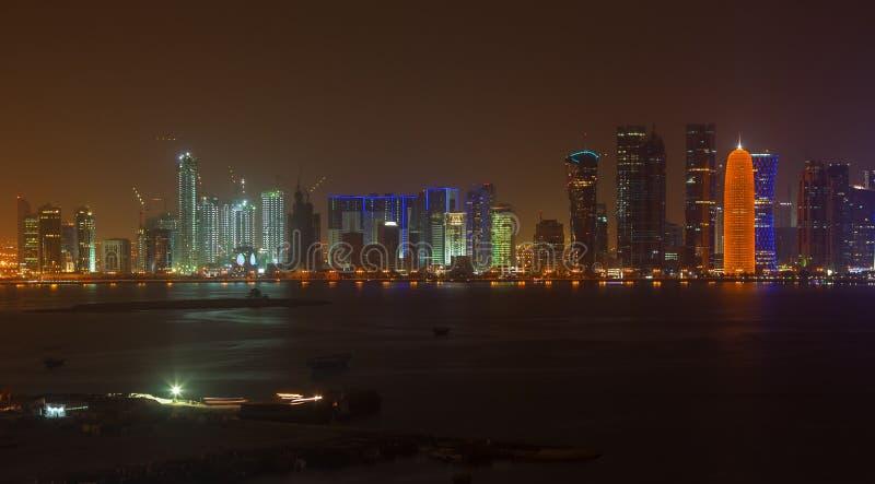 Doha quatar fotos de archivo libres de regalías