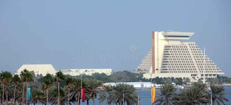 Doha Sheraton 2006 stockbild