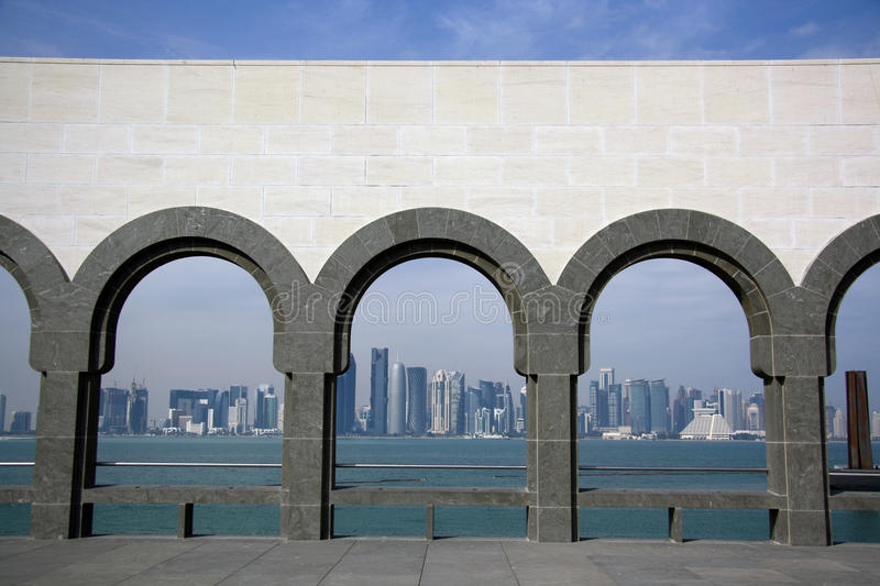 Download Doha Skyline From The Museum Of Islamic Art Editorial Photo - Image: 36652726