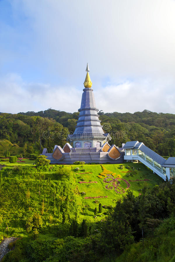 Doi Inthanon, Chiang MAI, Thailand. stock afbeelding