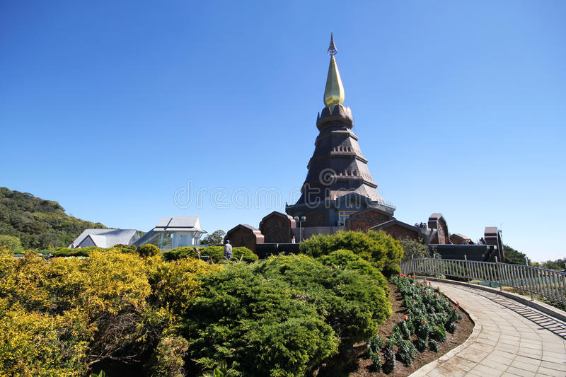 Doi Inthanon, Chiang-MAI Thailand stock afbeelding