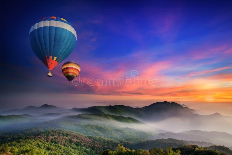 Doi Inthanon nationalpark royaltyfri bild