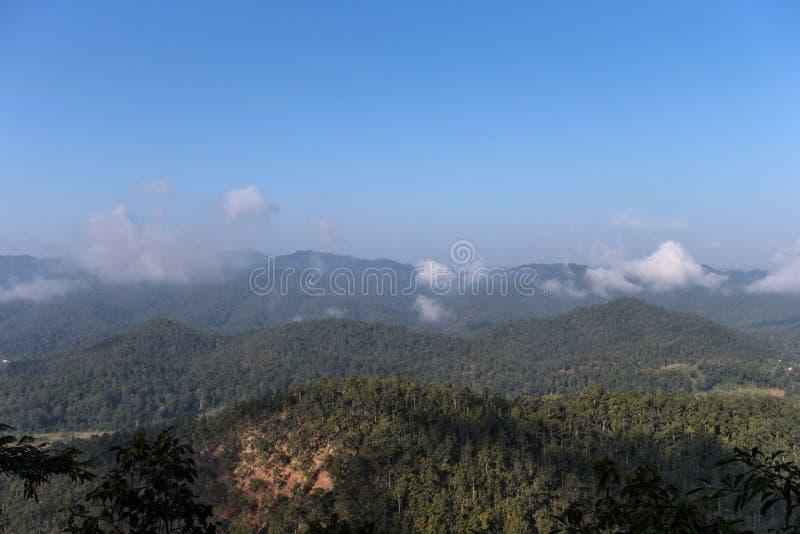 Doi Inthanon wzgórza 2 obraz royalty free