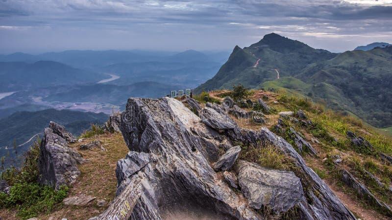 Doi Pha Tang Mountain, Chiang Rai, Thailand stock foto