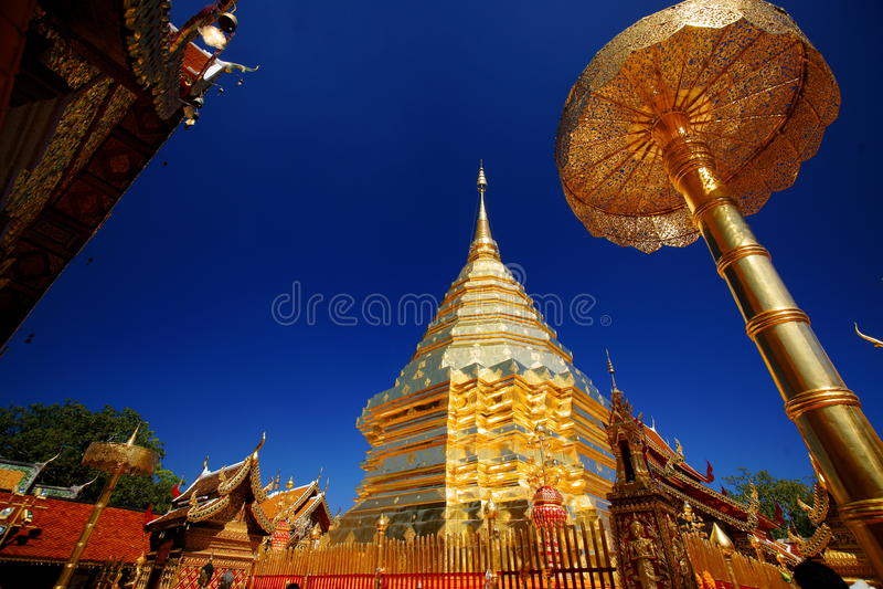 doi phra suthep świątyni wat zdjęcie royalty free