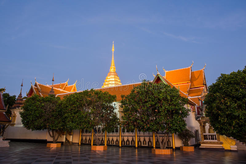 Doi Suthep寺庙 免版税图库摄影